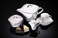 Сервиз кофейный Gregory Platinum 15 предметов на 6 персон Narumi