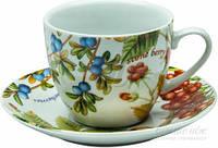 Сервиз чайный Лесные ягоды 12 предметов на 6 персон Оселя