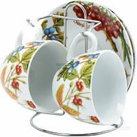 Набор чайный Лесные ягоды 5 предметов на 2 персоны Оселя