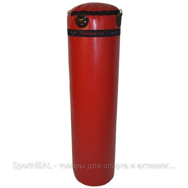 Мешок боксерский Champion 1400*320, PVC красный