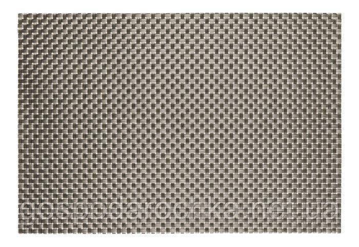 Коврик для сервировки стола серо - металлического цвета 450*300 мм (шт)