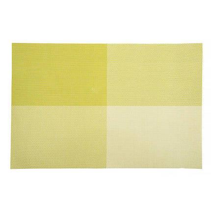 Коврик для сервировки стола фисташкового цвета 450*300 мм (шт), фото 2
