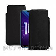 Футляр Stenk Elegance для Huawei Honor 10 Чёрный
