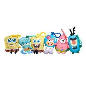 Мягкая игрушка-брелок SpongeBob Mini Key Plush SpongeBob в ассорт.