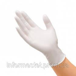 Перчатки латексные опудренные размер XS, Santex (Сантекс) 100 шт.