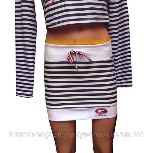 Юбка морячка 2 цвета