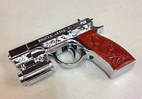 Пистолет 3в1 - фонарик+шокер+лазер
