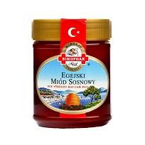 Мед сосновый с Эгейского побережья Турции Bihophar, 500г