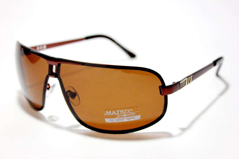 Очки Matrix Polarized  08387 SM brown
