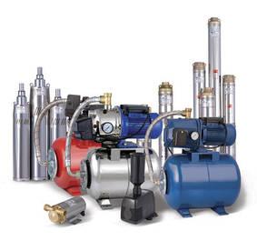 Насосы для водоснабжения, водоотведения и отопления