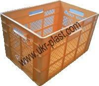 Ящики пластиковые хлебный 600 x 400 x 350 Житомир