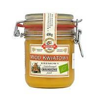 Мед цветочный кремовый из эко-пасеки Bihophar, 450г