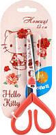 Ножницы детские с рисунком на лезвии,13см Хеллоу Китти. HK15-121K