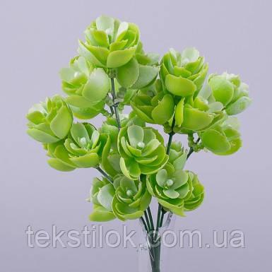 Букет  травка водная лилия салатово зеленая  зелень искусственная