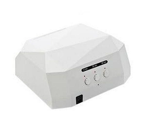 Гібридна сенсорна лампа Diamond Led+Ccfl для манікюру 36Вт, white