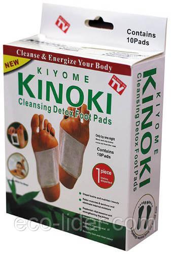 Пластирі на стопи - Kinoki (10шт.) для виведення токсинів