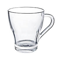 Чашка стеклянная прозрачная 250 мл, от 10 шт