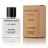 Armand Basi In Red EDT 50ml TESTER  (туалетная вода Арманд Баси Ин Рэд тестер)