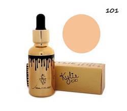 (Код № 50) KYLIE Matte Liquid Foundation (золотой флакон) №101 (реплика)