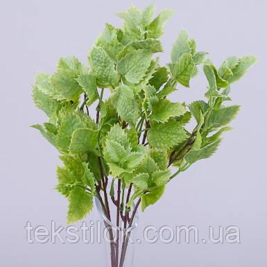 Букет  травка крапива салатовая  зелень искусственная