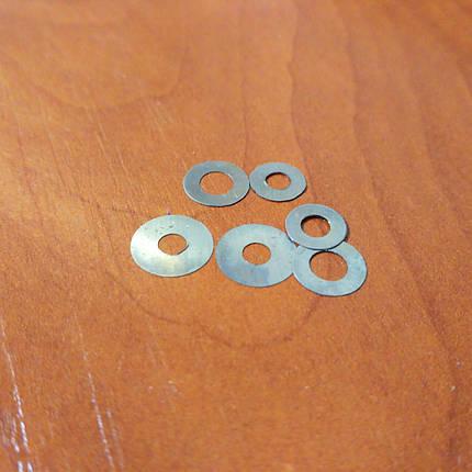 Шайба регулировочная 0.1 мм 8.00 мм - 4.00 мм форсунки МТЗ (25 шт.), фото 2