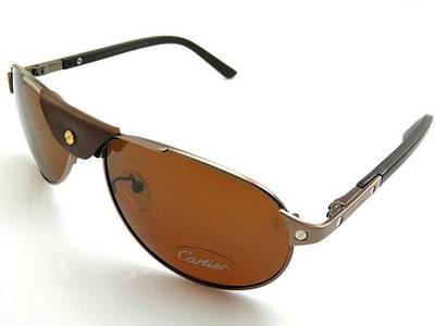 Солнцезащитные очки Cartier (125)золотая оправа