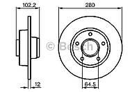 Тормозной диск задний  ( Vivaro , Trafic , Primastar ) BOSCH  0 986 479 144