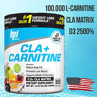 CLA PLUS CARNITINE 300g - морозный арбуз