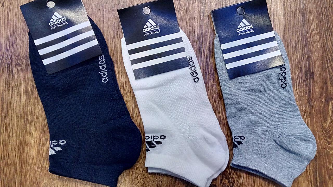 """Мужские короткие носки в стиле""""Adidas Or"""",Турция 41-44"""
