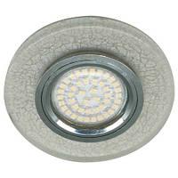 Встраиваемый светильник Feron 8989-2, с LED подсветкой