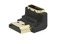 Вертикальный угловой HDMI порт - адаптер  90 градусов