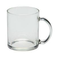 Чашка Фрост стеклянная прозрачная, 300 мл, от 10 шт