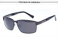 060ace6ef2f7 Солнцезащитные очки Porsche Design 8738 цвет черный с серебром, цена ...
