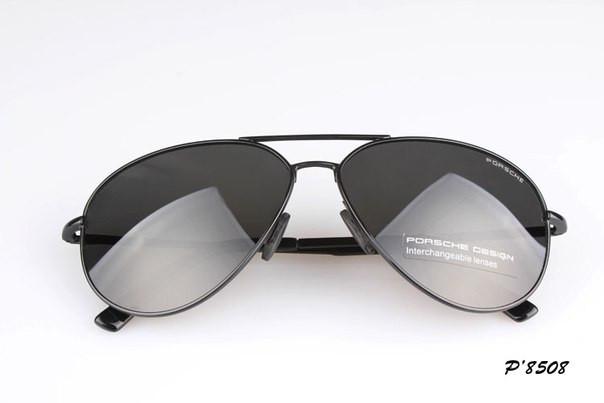 Солнцезащитные очки Porsche Design c поляризацией (p-8508 new черная оправа) 355a700a788