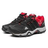 Мужские кроссовки Adidas Terrex AX2 черные с красным р.43 Акция -50%!