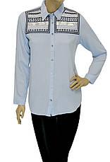 Жіноча сорочка з вишивкою із паєток, фото 3