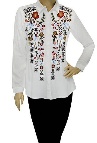 Біла сорочка з вишивкою, фото 2