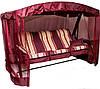 """Качели-диван с сеткой и подсветкой """"Палермо Premium"""""""