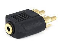 Адаптер 3.5 мм - RCA ( моно )