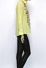 жіноча сорочка з вишивкою із штапеля, фото 3