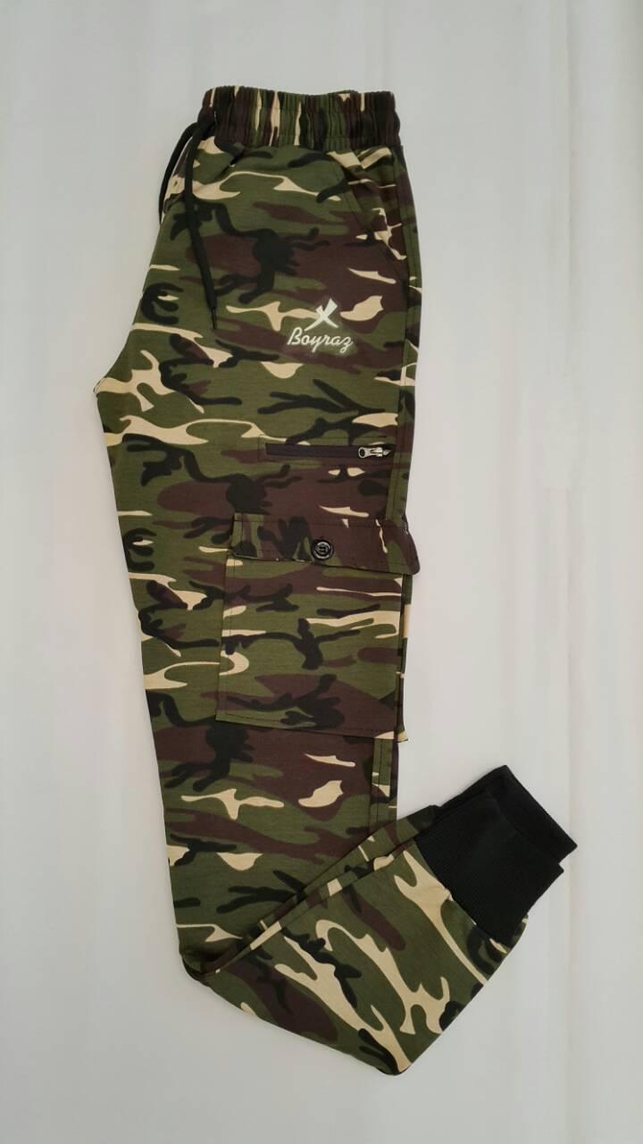 Спортивные штаны карго камуфляжные для мальчиков 170,176,180 роста Хаки