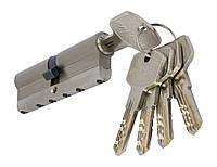 PALADII цилиндровый механизм латунный с вставкой 90мм (35*55) 5 гибридных ключей сатен