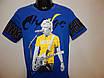 Мужская молодежная футболка с принтом Enos jeans р.50 142Ф, фото 2