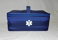 Аптечка/органайзер бытовая RVL синяя, фото 1