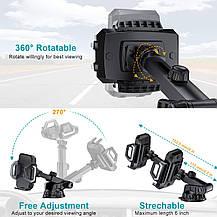 Беспроводное зарядное устройство Choetech  крепление автодержатель для автомобиля, фото 3