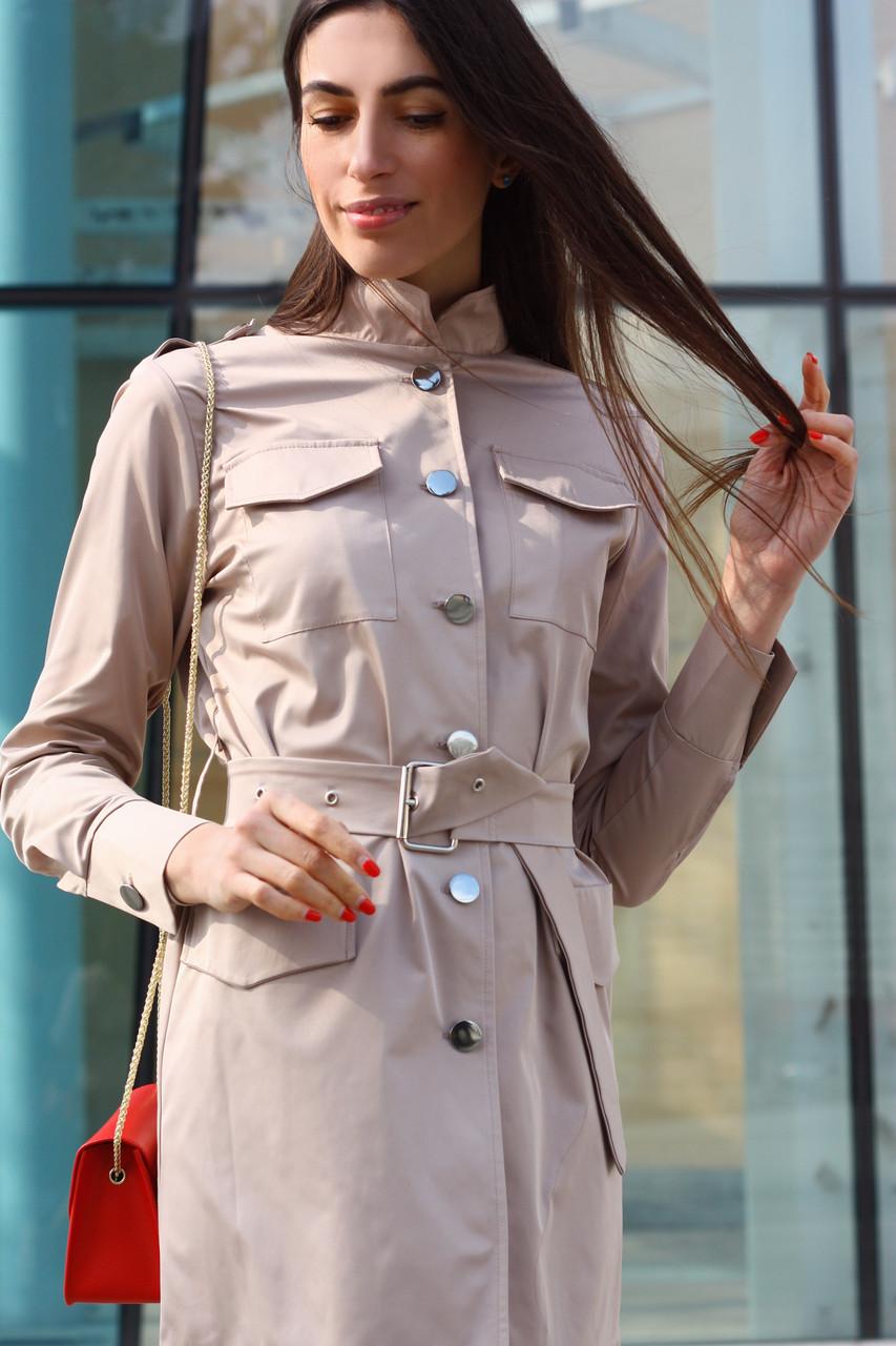 Женское короткое платье-пиджак