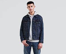 Джинсовая куртка Levis Trucker - Dark Stonewash
