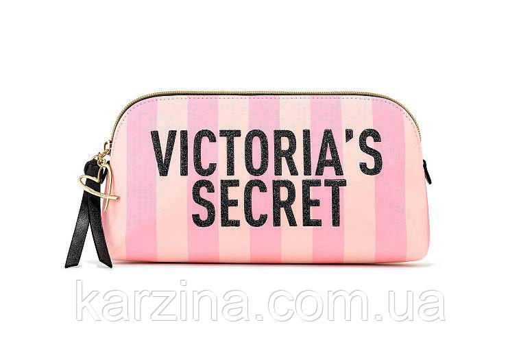 Косметичка Victoria's Secret Signature Stripe Beauty Bag