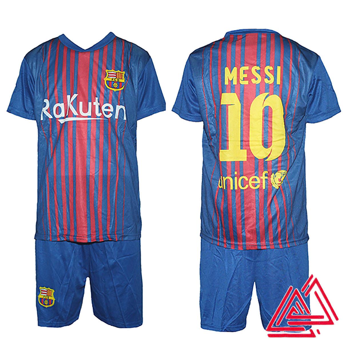 c6855aedc4fd Футбольная спортивная форма для детей ФК Барселона