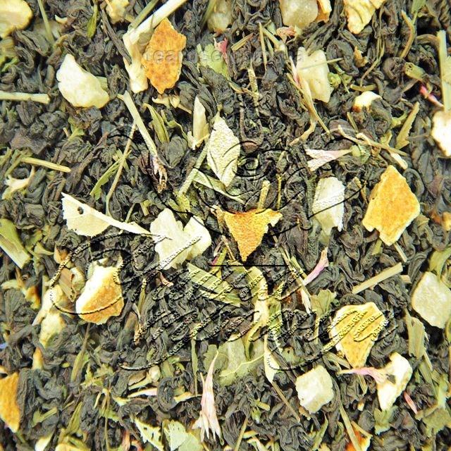 """Чорний ароматизований чай """"Чебрець-Меліса"""""""